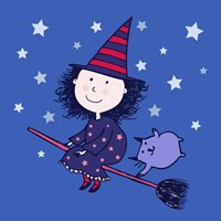 Lovely Little Witch Fine Art Print