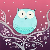 Spring Owl by Carla Martell - various sizes