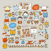 Robot Kids by Carla Martell - various sizes