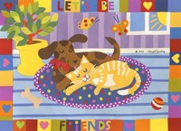 Let's Be Friends Fine Art Print