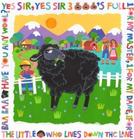 Bah Bah Black Sheep Fine Art Print
