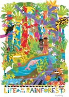 Life In The Rainforest by Cheryl Piperberg - various sizes - $42.49