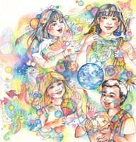 Children & Music Fine Art Print