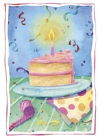 Birthday Cake Fine Art Print