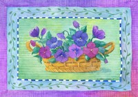 Pansy Basket by Fiona Stokes-Gilbert - various sizes
