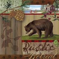 Rustic Retreat I Fine Art Print