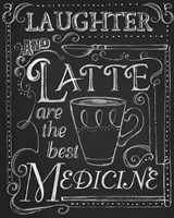 Laughter & Latte by Fiona Stokes-Gilbert - various sizes