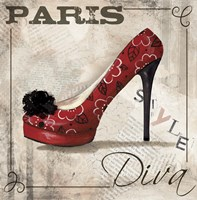 Paris Style by Fiona Stokes-Gilbert - various sizes, FulcrumGallery.com brand