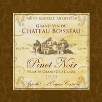 Wine Label III Fine Art Print