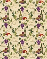 Wine Pattern I by Fiona Stokes-Gilbert - various sizes