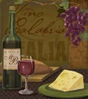 Vino Calabria Framed Print