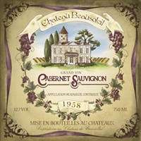 Chateaux Beausoleil by Fiona Stokes-Gilbert - various sizes