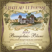 Chateau Le Rousse by Fiona Stokes-Gilbert - various sizes