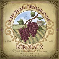 Chateau Lengronne by Fiona Stokes-Gilbert - various sizes