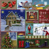 Home For The Holidays Winter by Fiona Stokes-Gilbert - various sizes