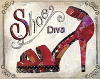 Shoe Diva Fine Art Print