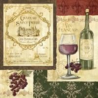 French Wine Patch Fine Art Print
