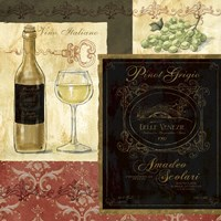 Italian Wine Patch Fine Art Print