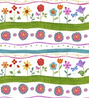 Wavy Stripe I by Fiona Stokes-Gilbert - various sizes