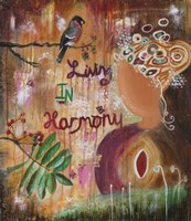 Living In Harmony by Jane Hinchliffe - various sizes