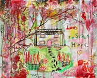 Love Resides Here by Jane Hinchliffe - various sizes - $22.49