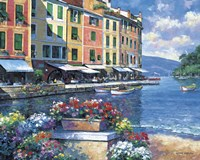 Reflections Of Portofino Fine Art Print