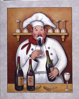 Chef I Framed Print