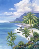 Tropical Paradise II Fine Art Print