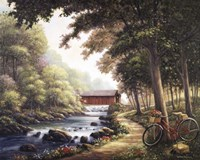 The Covered Bridge Fine Art Print