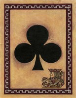 Jack Of Clubs Framed Print