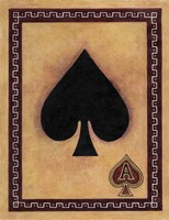Ace Of Spades Fine Art Print