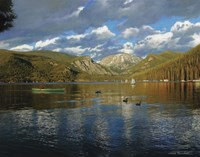 Vista Of Grand Lake, Colorado Fine Art Print