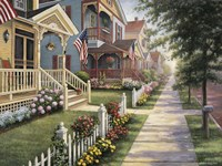 Country Homes Fine Art Print