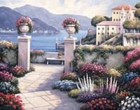 Mediterranean Scene B by John Zaccheo - various sizes - $36.49