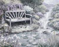 Park Bench Fine Art Print