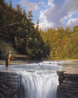 Fishing Fine Art Print