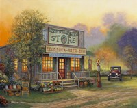 Old Country Store by John Zaccheo - various sizes