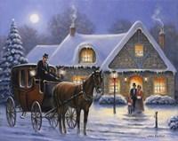 Christmas Eve Fine Art Print