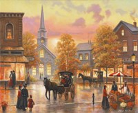 Autumnal Breeze In Pleasantville by John Zaccheo - various sizes