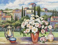 Tuscan Roses by John Zaccheo - various sizes, FulcrumGallery.com brand