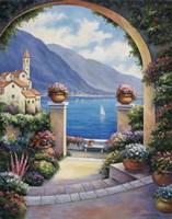 Mediterranian Archway Fine Art Print