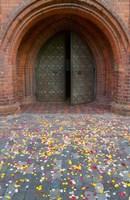 Flower petals, St Anne's Church, Vilnius, Lithuania Fine Art Print
