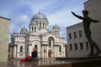 Archangel Michael Cathedral, Kaunas, Lithuania by Keren Su - various sizes, FulcrumGallery.com brand