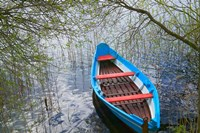 Canoe on Lake, Trakai, Lithuania by Keren Su - various sizes