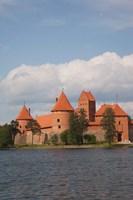 Island Castle by Lake Galve, Trakai, Lithuania III by Walter Bibikow - various sizes