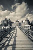 Island Castle by Lake Galve, Trakai, Lithuania IV by Walter Bibikow - various sizes
