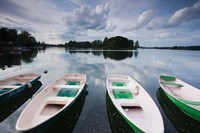 Lake Galve, Trakai Historical National Park, Lithuania I Fine Art Print