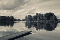 Lake Galve, Trakai Historical National Park, Lithuania V Fine Art Print
