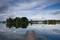 Lake Galve, Trakai Historical National Park, Lithuania VI by Walter Bibikow - various sizes