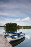 Lake Galve, Trakai Historical National Park, Lithuania VII by Walter Bibikow - various sizes
